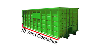 10 yard dumpster cost Fort Lee